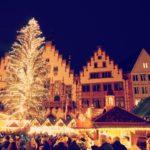 クリスマス前のドイツの夜